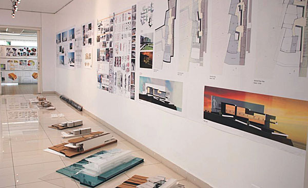 Student Projects On Display At The Sheikh Zayed Hall, Beirut Campus.