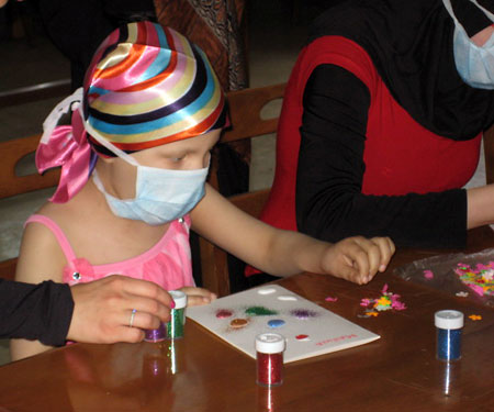 Art Therapy For Children With Cancer Lau News
