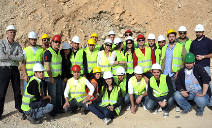Civil Engineering Students Learn Real Life Techniques During Construction Site Tour Lau News