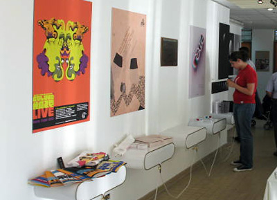 projects by lau graphic design students on display in sheikh zayed hall lau beirut - Graphic Design Project Ideas